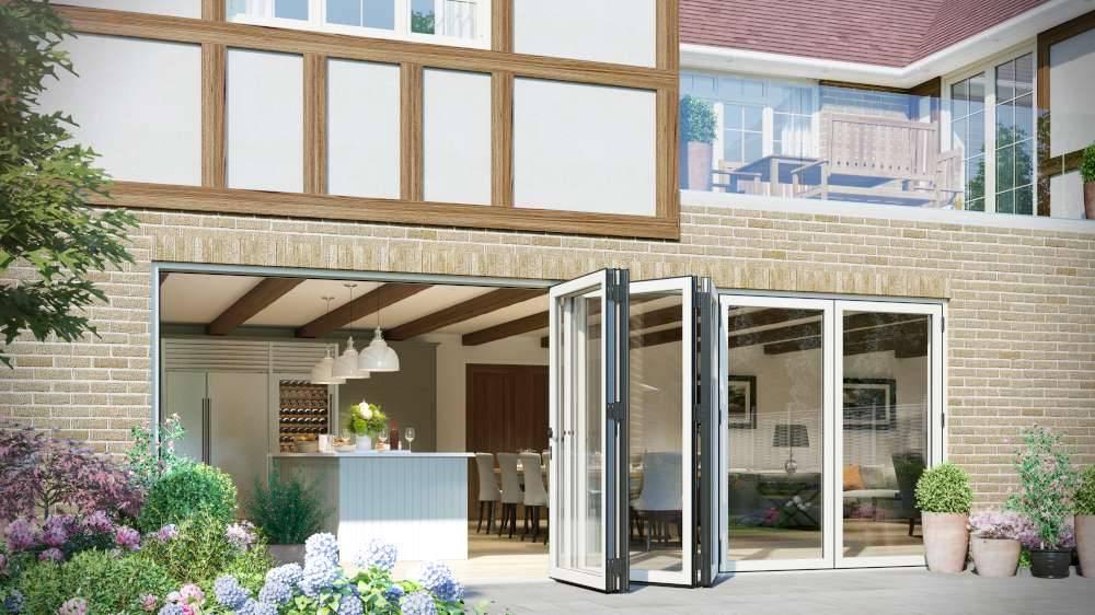 bi fold doors Kent 26 1000 - Bi-Folding Doors