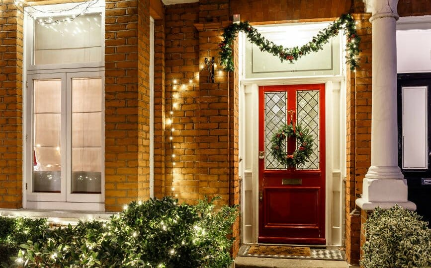 Christmas Decorations For Doors And Windows 1st Scenic Ltd