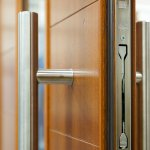 Contemporary Timber Door - Multipoint locking