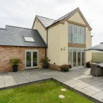 Quadring New Build - Back od House - AP image copyright of George Barnsdale