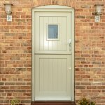 Quadring New Build_Traditional Stable Door_In situ_Closed_Pebble Grey_2016