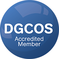 DGCOS Accredited Member  - Double Glazing Tonbridge