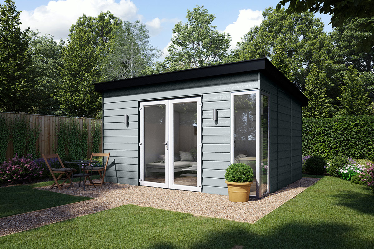 Insulated Garden Office Kent