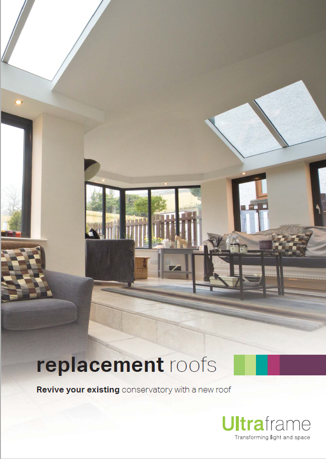 Ultraframe replacement roof brochure